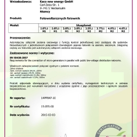 CERTYFIKAT_KACO_Blueplanet_61727_IEC_62116_