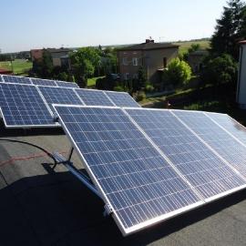 Babienica moc 9 kWp panele fotowoltaiczne IBC Solar Inwerter SMA
