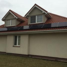 Debe Wielkie 6,27 kWp kolektory Instalacja w 3 strony swiata BenQ SunForte 330 Wp, SMA 02
