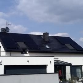 Fotowoltaika Gliwice – panele fotowoltaiczne 6 kWp, Recom mono Black  Fronius