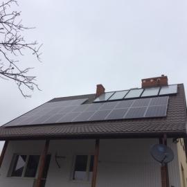 Fotowoltaika Kolbiel 6,24kWp oraz SOLARY IBC SOLAR, SMA, Kolektory Solar-expert S-Ex 219