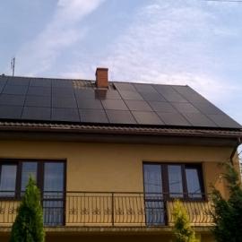Fotowoltaika Minsk Mazowiecki 9,88 kWp Recom mono Black, Fronius