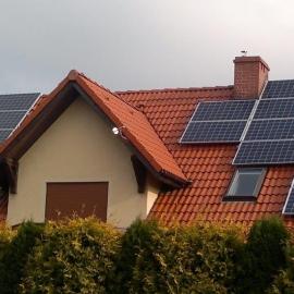 Gliwice moc 4_7 kWp panele fotowoltaiczne IBC Solar Inwerter SMA