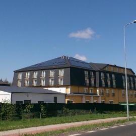 Instalacja fotowotaiczna PV BenQ SMA Holtel Villa Verde
