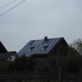 Kamieniec moc 8_4 kWp - panele fotowoltaiczne IBC Solar Inwerter SMA