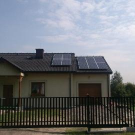 Zabrze fotowoltaika -  moc 2_9 kWp panele Suntech Inwerter SMA