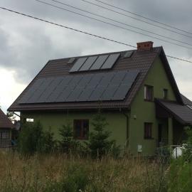 Barczaca 5,2 kWp Recom mono Black, Fronius, Kolektory Solar-expert S-Ex 219