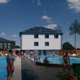 Instalacja zasilająca basen Hotel Villa Verde